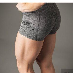 Doughnuts & Deadlifts Gray Perform Pocket Short M
